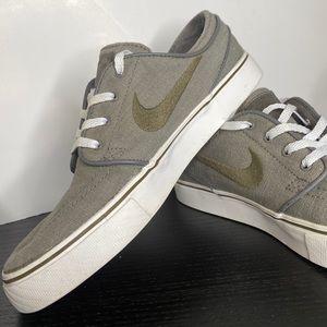Nike Zoom Stefan Janoski SB Canvas grey shoes 7